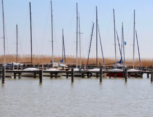 Boote am Neusiedler See, Burgenland